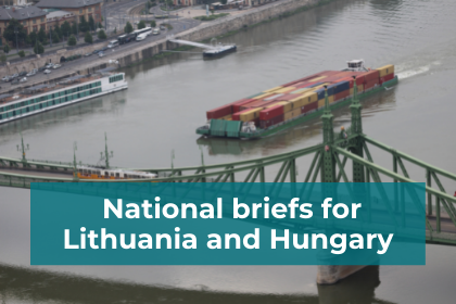National briefs for Lithuania and Hungary