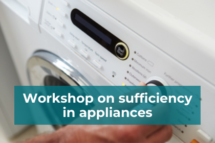 Illustration of sufficiency in appliances